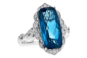 D208-28554: LDS RG 6.75 LONDON BLUE TOPAZ 6.90 TGW