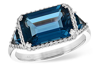E208-29499: LDS RG 4.60 TW LONDON BLUE TOPAZ 4.82 TGW