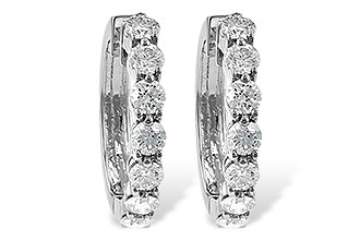 F019-21290: EARRINGS 2 CT TW