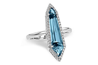 K208-28590: LDS RG 2.20 LONDON BLUE TOPAZ 2.41 TGW