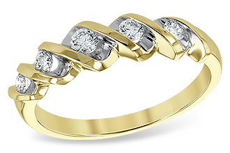 M111-05908: LDS WED RING .25 TW